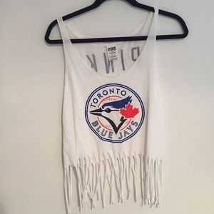 FREE WITH $50 PURCHASE Fringe Tank/ Crop Top